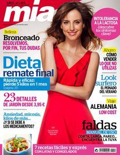 Revista MÍA 1494, #junio 2015. #NataliadeMolina. 23 detalles de #jardín. #Bronceado, resolvemos tus dudas. #Faldas, manual de uso. #Look surfero.