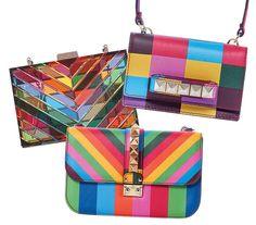 Valentino - Coleção-desejo de bolsas multicoloridas chega em novembro às lojas da grife de São Paulo, Rio, Curitiba e Recife