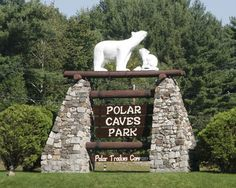 Early spring family getaway to Polar Caves New Hampshire