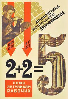Affiches soviétiques : 1920-1941