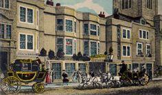 Travel in Jane Austen's Time – Part 1 Jane Austen, Vermont, Old Pub, Somewhere In Time, Regency Era, Old London, London England, Travel Inspiration, Britain