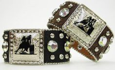 barrel racing bling, if I ever compete I'm getting these