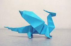 origami dragon.. cool