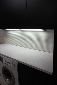 SIPARILA Wall: VIRE interior panel 15x90, Tone: white