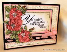 Your'e In My Thoughts by ellentaylor - Cards and Paper Crafts at Splitcoaststampers
