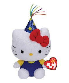 Loving this Hello Kitty Celebration Plush Toy on #zulily! #zulilyfinds