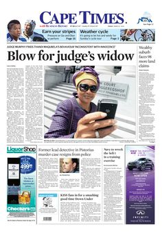 News making headlines: Former detective in #OscarPistorius murder case resigns from police.