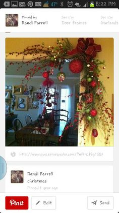 christmas home decor diy dollar stores - simple xmas strategies to produce a fabulous Christmas decor. Xmas Post number posted on 20190126 Noel Christmas, Primitive Christmas, Christmas Projects, All Things Christmas, Winter Christmas, Christmas Wreaths, Christmas Ornaments, Christmas Entryway, Christmas Greetings