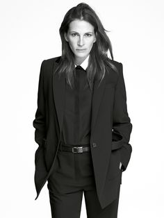 Julia Roberts was tapped by designer Riccardo Tisci to star in the Givenchy spring/summer 2015 ad campaign