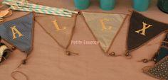 Banderín personalizado, ideal para decorar los cumpleaños de nuestros pequeños