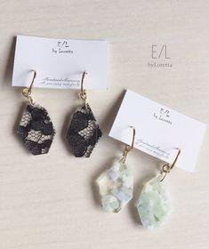 2way hoop sizuku pierce/earring(MINT) | E/L byLoretta