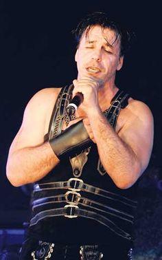 Till Lindemann, vocalist of Rammstein