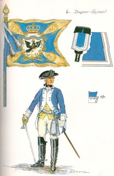 Prussia; Dragoon Regiment Nr.6, Officer by G.Donn: