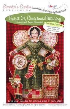 Cross stitch pattern Spirit of Christmas by thecottageneedle