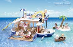 Sylvanian Families - Seaside Cruiser House Boat - Online Toys Australia