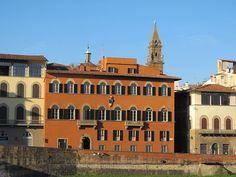 notizie  G.M.  guido michi: Palazzo Capponi-Vettori si trova sul Lungarno Guic...