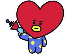 Find more awesome tata images on PicsArt. Picsart, Kpop Drawings, Blackpink And Bts, Bts Chibi, Line Friends, Hand Embroidery Stitches, Bts Fans, Cute Stickers, Bts Wallpaper