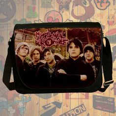 NEW HOT!!! My Chemical Romance Messenger Bag, Laptop Bag, School Bag, Sling Bag for Gifts & Fans #03