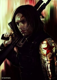 Bucky Barnes~ this is my favorite art of him yet :)