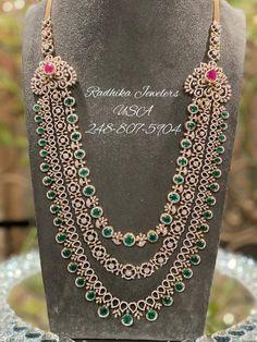 Diamond Earrings Indian, Diamond Jewellery, Trendy Jewelry, Fashion Jewelry, Necklace Designs, Jewellery Designs, Jewelry Design Drawing, Indian Jewelry, Wedding Jewelry