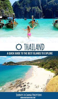 Best Thailand islands guide. Pin.