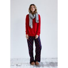 Big Star Print Pyjama Trousers