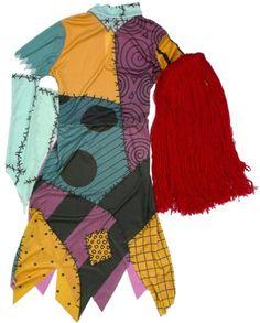 Nightmare before christmas sally ragdoll dress custom the nightmare before christmas sally adult costume standard disguise costumes http solutioingenieria Gallery