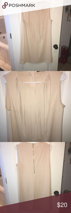 ADORE Fringe Dress Super cute fringe dress! Bought from a boutique. It was worn once for an event. It is in great conditions and goes great with wedges or cowboy boots! Comes from a smoke free home!  All items are smoke free and pet free. Items will be shipped same day if orders before NOON, if after, they will be shipped the next day.   I consider reasonable offers, so don't be afraid to shoot them to me! Happy shopping! Adore Dresses Midi
