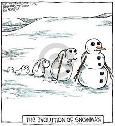 "Dave Coverly, the creative mind behind this one-panel comic strip, says Speed Bump depicts the ""movie of life. Christmas Captions, Funny Christmas Jokes, Christmas Humor, Christmas Cards, Science Cartoons, Science Humor, Funny Cartoons, Cartoon Humor, Cartoon Fun"