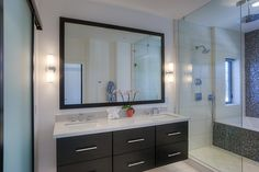 Alair Homes   Scottsdale   Minnezona   Custom Home Custom Homes, Vanity, Mirror, Bathroom, Furniture, Home Decor, Painted Makeup Vanity, Washroom, Homemade Home Decor