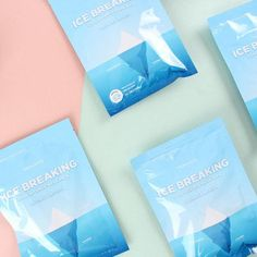 HEALAVIE - Ice Breaking Cool Essence Mask (2pcs) – daint Ice Breaking, Vitex Agnus Castus, Water Flowers, Melaleuca, K Beauty, Korean Skincare, Tea Tree, Moisturizer, Skin Care