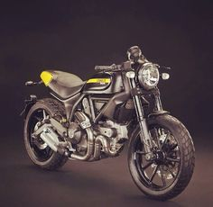 RocketGarage Cafe Racer Ducati Scrambler Customization