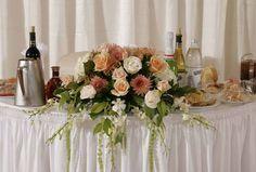 aranjamente floral nunta masa prezidiu 4 Table Settings, Table Decorations, Floral, Plants, Home Decor, Decoration Home, Room Decor, Flowers, Place Settings