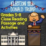 Election 2016 - United States Presidential Election - Donald Trump