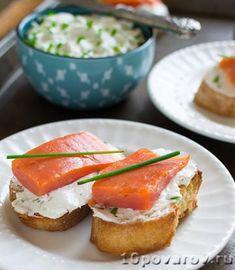 брускетта с семгой и сыром Eggs, Breakfast, Recipes, Food, Morning Coffee, Egg, Rezepte, Food Recipes, Meals