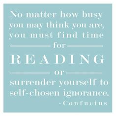 So get out a good book and give it a go.