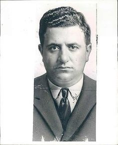 34S 1932 Ruthless Cosa Nostra Mobsters Albert Anastasia Murder Inc Press Photo (12/29/2013)