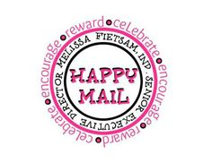 happy mail stickers for direct sales consultants!!  #happymail #thirtyone #thirtyonebags #31bags #marketing #directsales #directsalesideas