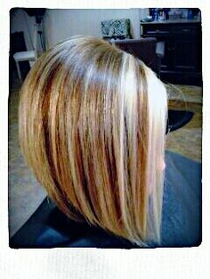 Fall 2013 gold and blonde highlights @  Le' Jolie: A Color Studio & Hair Salon