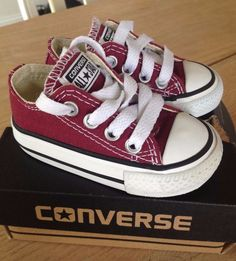 toddler converse chuck taylor all star maroon low top size 3 from $9.99