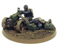 DEATH KORPS OF KRIEG HEAVY BOLTER TEAM 1