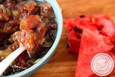 Doce Compota da Casca de Melancia  - uma deliciosa sobremesa para a Ceia de Ano Novo. #receitas #doces #anonovo #ceia #melancia