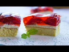 Ciasto truskawkowe - Video-Kuchnia.pl - YouTube