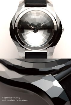 Polygon Radio Wave Receptor Watch by The SEIKO Design Project
