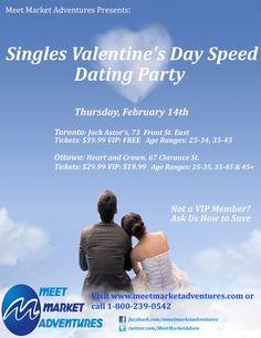 Valentines speed dating Toronto