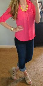 all things katie marie: Katie's Closet. Love this outfit