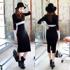 Find More Information about 2015 New Arrival Spring Cotton Thread Color Block After Placketing Long sleeve Dress Medium long Dresses Free Shipping Women,High Quality thread bridesmaid dresses,China dress superhero Suppliers, Cheap dress shirt for ladies from New Butterfly on Aliexpress.com