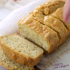 you've been craving an ACTUAL sandwich with bread on the low carb lifestyle we've got this epic Low Carb Sandwich Bread for you and your turkey sandwiches at just 1 Net Carb per slice! Low Carb Sandwich Bread Recipe, Low Carb Sandwiches, Lowest Carb Bread Recipe, Turkey Sandwiches, Sandwich Recipes, Bon Dessert, Dessert Recipes, Tortas Low Carb, Gluten Free Recipes
