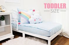 Daydream Toddler (Minky) (Sold out, coming June-July) Beddys Bedding, Zipper Bedding, Pillowcases & Shams, Make Your Bed, Blue Bedding, Kid Beds, Big Boys, Daydream, Snug