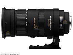 SIGMA 50-500 mm f/4.5-6.3 DG OS HSM monture NIKON objectif photo